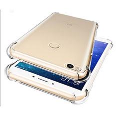 Silikon Schutzhülle Ultra Dünn Tasche Durchsichtig Transparent T07 für Xiaomi Mi Max 2 Klar
