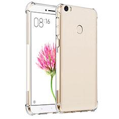 Silikon Schutzhülle Ultra Dünn Tasche Durchsichtig Transparent T07 für Xiaomi Mi Max Klar