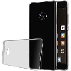 Silikon Schutzhülle Ultra Dünn Tasche Durchsichtig Transparent T07 für Xiaomi Mi Note 2 Special Edition Grau