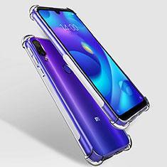 Silikon Schutzhülle Ultra Dünn Tasche Durchsichtig Transparent T07 für Xiaomi Mi Play 4G Klar