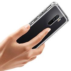 Silikon Schutzhülle Ultra Dünn Tasche Durchsichtig Transparent T07 für Xiaomi Pocophone F1 Klar