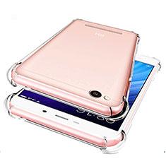 Silikon Schutzhülle Ultra Dünn Tasche Durchsichtig Transparent T07 für Xiaomi Redmi 4A Klar