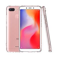 Silikon Schutzhülle Ultra Dünn Tasche Durchsichtig Transparent T07 für Xiaomi Redmi 6 Klar