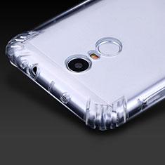Silikon Schutzhülle Ultra Dünn Tasche Durchsichtig Transparent T07 für Xiaomi Redmi Note 3 Pro Klar