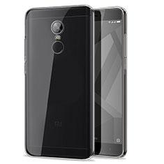 Silikon Schutzhülle Ultra Dünn Tasche Durchsichtig Transparent T07 für Xiaomi Redmi Note 4 Klar