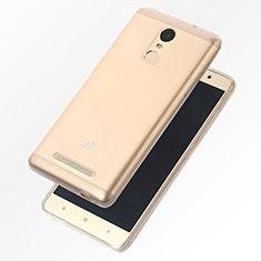 Silikon Schutzhülle Ultra Dünn Tasche Durchsichtig Transparent T07 für Xiaomi Redmi Note 4 Standard Edition Klar