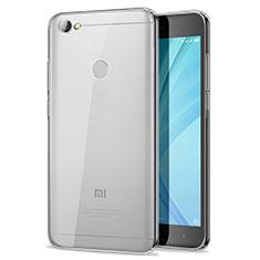 Silikon Schutzhülle Ultra Dünn Tasche Durchsichtig Transparent T07 für Xiaomi Redmi Y1 Klar