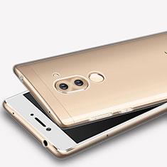 Silikon Schutzhülle Ultra Dünn Tasche Durchsichtig Transparent T08 für Huawei Honor 6X Klar
