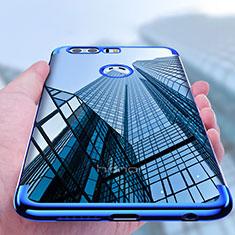 Silikon Schutzhülle Ultra Dünn Tasche Durchsichtig Transparent T08 für Huawei Honor 8 Klar