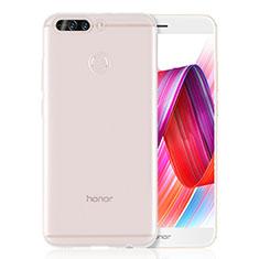 Silikon Schutzhülle Ultra Dünn Tasche Durchsichtig Transparent T08 für Huawei Honor 8 Pro Klar