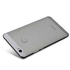 Silikon Schutzhülle Ultra Dünn Tasche Durchsichtig Transparent T08 für Huawei Honor V8 Max Klar