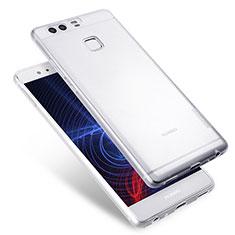 Silikon Schutzhülle Ultra Dünn Tasche Durchsichtig Transparent T08 für Huawei P9 Klar