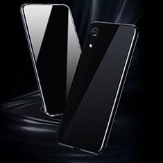 Silikon Schutzhülle Ultra Dünn Tasche Durchsichtig Transparent T08 für Huawei Y6 (2019) Klar
