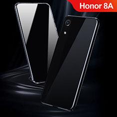 Silikon Schutzhülle Ultra Dünn Tasche Durchsichtig Transparent T08 für Huawei Y6 Prime (2019) Klar