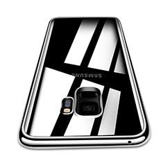 Silikon Schutzhülle Ultra Dünn Tasche Durchsichtig Transparent T08 für Samsung Galaxy S9 Klar