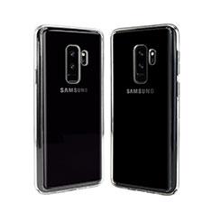Silikon Schutzhülle Ultra Dünn Tasche Durchsichtig Transparent T08 für Samsung Galaxy S9 Plus Klar