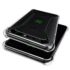Silikon Schutzhülle Ultra Dünn Tasche Durchsichtig Transparent T08 für Xiaomi Black Shark Klar