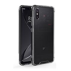 Silikon Schutzhülle Ultra Dünn Tasche Durchsichtig Transparent T08 für Xiaomi Mi 8 Explorer Klar