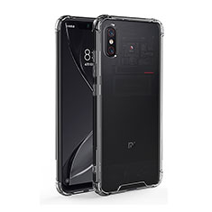 Silikon Schutzhülle Ultra Dünn Tasche Durchsichtig Transparent T08 für Xiaomi Mi 8 Pro Global Version Klar