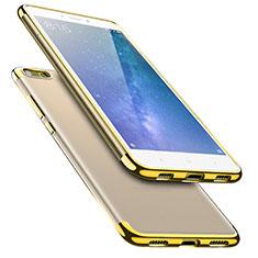 Silikon Schutzhülle Ultra Dünn Tasche Durchsichtig Transparent T08 für Xiaomi Mi Max 2 Gold