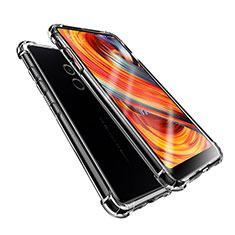 Silikon Schutzhülle Ultra Dünn Tasche Durchsichtig Transparent T08 für Xiaomi Mi Mix 2 Klar