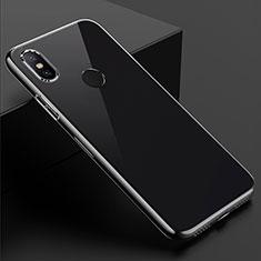 Silikon Schutzhülle Ultra Dünn Tasche Durchsichtig Transparent T08 für Xiaomi Mi Mix 3 Klar