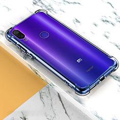 Silikon Schutzhülle Ultra Dünn Tasche Durchsichtig Transparent T08 für Xiaomi Mi Play 4G Klar