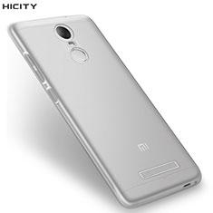 Silikon Schutzhülle Ultra Dünn Tasche Durchsichtig Transparent T08 für Xiaomi Redmi Note 3 Klar