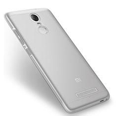 Silikon Schutzhülle Ultra Dünn Tasche Durchsichtig Transparent T08 für Xiaomi Redmi Note 3 Pro Klar