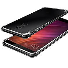 Silikon Schutzhülle Ultra Dünn Tasche Durchsichtig Transparent T08 für Xiaomi Redmi Note 4 Klar