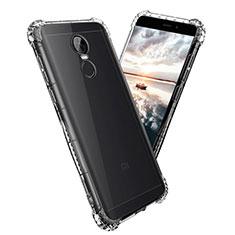 Silikon Schutzhülle Ultra Dünn Tasche Durchsichtig Transparent T08 für Xiaomi Redmi Note 4X Klar
