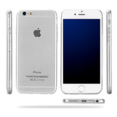 Silikon Schutzhülle Ultra Dünn Tasche Durchsichtig Transparent T09 für Apple iPhone 6 Klar