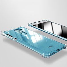 Silikon Schutzhülle Ultra Dünn Tasche Durchsichtig Transparent T09 für Huawei GR5 (2017) Klar