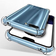Silikon Schutzhülle Ultra Dünn Tasche Durchsichtig Transparent T09 für Huawei Honor 10 Klar