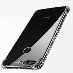 Silikon Schutzhülle Ultra Dünn Tasche Durchsichtig Transparent T09 für Huawei Honor 8 Pro Klar