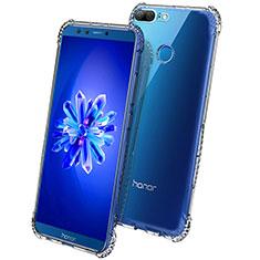 Silikon Schutzhülle Ultra Dünn Tasche Durchsichtig Transparent T09 für Huawei Honor 9 Lite Klar