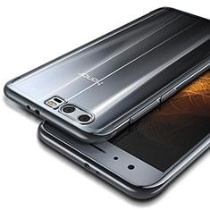 Silikon Schutzhülle Ultra Dünn Tasche Durchsichtig Transparent T09 für Huawei Honor 9 Silber