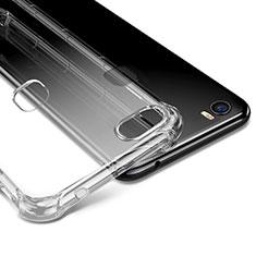 Silikon Schutzhülle Ultra Dünn Tasche Durchsichtig Transparent T09 für Huawei Honor Note 8 Klar