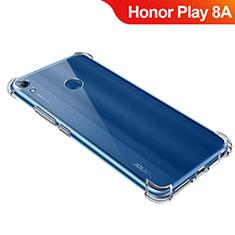 Silikon Schutzhülle Ultra Dünn Tasche Durchsichtig Transparent T09 für Huawei Honor Play 8A Klar