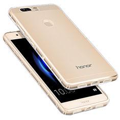 Silikon Schutzhülle Ultra Dünn Tasche Durchsichtig Transparent T09 für Huawei Honor V8 Klar