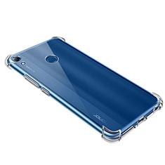Silikon Schutzhülle Ultra Dünn Tasche Durchsichtig Transparent T09 für Huawei Y6 (2019) Klar