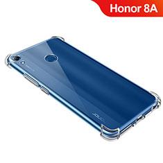 Silikon Schutzhülle Ultra Dünn Tasche Durchsichtig Transparent T09 für Huawei Y6 Prime (2019) Klar