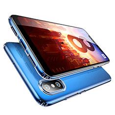Silikon Schutzhülle Ultra Dünn Tasche Durchsichtig Transparent T09 für Xiaomi Mi 8 Klar