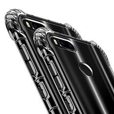 Silikon Schutzhülle Ultra Dünn Tasche Durchsichtig Transparent T09 für Xiaomi Mi A1 Klar