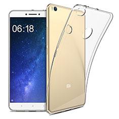 Silikon Schutzhülle Ultra Dünn Tasche Durchsichtig Transparent T09 für Xiaomi Mi Max 2 Klar