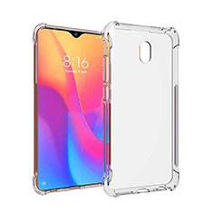 Silikon Schutzhülle Ultra Dünn Tasche Durchsichtig Transparent T09 für Xiaomi Redmi 8A Klar