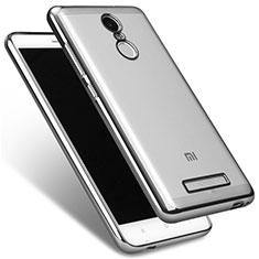Silikon Schutzhülle Ultra Dünn Tasche Durchsichtig Transparent T09 für Xiaomi Redmi Note 3 Pro Klar