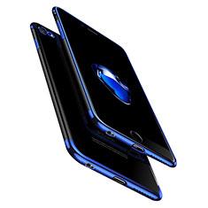 Silikon Schutzhülle Ultra Dünn Tasche Durchsichtig Transparent T10 für Apple iPhone 6 Plus Klar