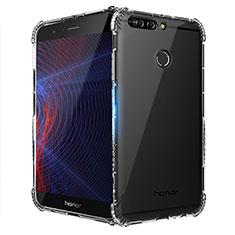 Silikon Schutzhülle Ultra Dünn Tasche Durchsichtig Transparent T10 für Huawei Honor 8 Pro Klar
