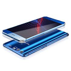 Silikon Schutzhülle Ultra Dünn Tasche Durchsichtig Transparent T10 für Huawei Honor 9 Silber